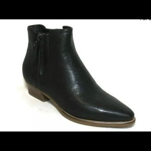 Cole Haan Nella Bootie Ankle Boot, Black Leather